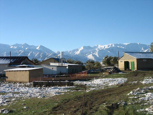 Mans Social Village in Kirgistan